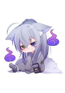 衣装修羅場のエリ狐